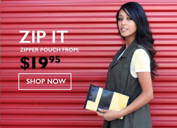 Zip It - Sonoma USA Zipper Pouch