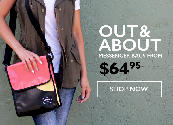 Out & About - Sonoma USA Messenger Bags