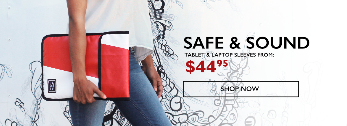 Safe & Sound - Sonoma USA Laptop Sleeves